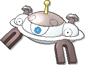 Magnezone Shiny sprite from Sun & Moon