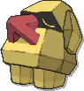 Nosepass Shiny sprite from Ultra Sun & Ultra Moon & Sun & Moon