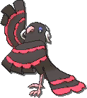 Oricorio Shiny sprite from Ultra Sun & Ultra Moon