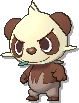 Pancham Shiny sprite from Ultra Sun & Ultra Moon