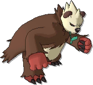 Pangoro Shiny sprite from Ultra Sun & Ultra Moon & Sun & Moon