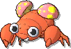 Paras Shiny sprite from Ultra Sun & Ultra Moon & Sun & Moon