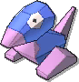 Porygon Shiny sprite from Ultra Sun & Ultra Moon
