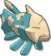 Relicanth Shiny sprite from Ultra Sun & Ultra Moon
