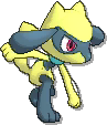 Riolu Shiny sprite from Ultra Sun & Ultra Moon & Sun & Moon