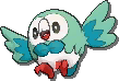 Rowlet Shiny sprite from Ultra Sun & Ultra Moon & Sun & Moon