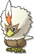 Rufflet Shiny sprite from Ultra Sun & Ultra Moon & Sun & Moon