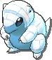 Sandshrew Shiny sprite from Ultra Sun & Ultra Moon