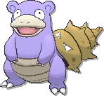 Slowbro Shiny sprite from Ultra Sun & Ultra Moon