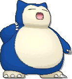 Snorlax Shiny sprite from Ultra Sun & Ultra Moon & Sun & Moon