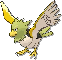 Spearow Shiny sprite from Ultra Sun & Ultra Moon