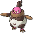 Vullaby Shiny sprite from Ultra Sun & Ultra Moon