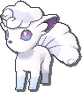 Vulpix Shiny sprite from Ultra Sun & Ultra Moon