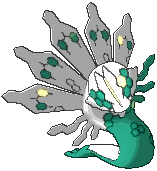 Zygarde Shiny sprite from Ultra Sun & Ultra Moon