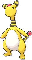 Ampharos  sprite from Ultra Sun & Ultra Moon