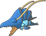 Clawitzer  sprite from Ultra Sun & Ultra Moon