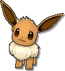 Eevee  sprite from Ultra Sun & Ultra Moon