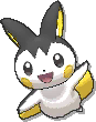Emolga  sprite from Ultra Sun & Ultra Moon