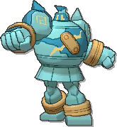 Golurk  sprite from Ultra Sun & Ultra Moon