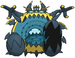 Guzzlord  sprite from Ultra Sun & Ultra Moon