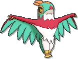 Hawlucha  sprite from Ultra Sun & Ultra Moon