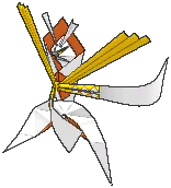 Kartana  sprite from Ultra Sun & Ultra Moon