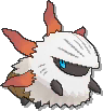 Larvesta  sprite from Ultra Sun & Ultra Moon
