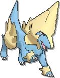 Manectric  sprite from Ultra Sun & Ultra Moon