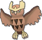Noctowl  sprite from Ultra Sun & Ultra Moon