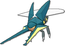 Vikavolt  sprite from Ultra Sun & Ultra Moon