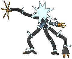 Xurkitree  sprite from Ultra Sun & Ultra Moon