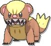 Yungoos  sprite from Ultra Sun & Ultra Moon