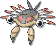 Anorith Shiny sprite from Ultra Sun & Ultra Moon