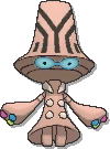 Beheeyem Shiny sprite from Ultra Sun & Ultra Moon