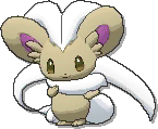 Cinccino Shiny sprite from Ultra Sun & Ultra Moon