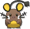 Dedenne Shiny sprite from Ultra Sun & Ultra Moon