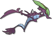 Dragalge Shiny sprite from Ultra Sun & Ultra Moon