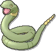 Ekans Shiny sprite from Ultra Sun & Ultra Moon