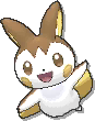 Emolga Shiny sprite from Ultra Sun & Ultra Moon