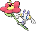 Floette Shiny sprite from Ultra Sun & Ultra Moon