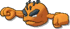 Geodude Shiny sprite from Ultra Sun & Ultra Moon