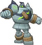 Golurk Shiny sprite from Ultra Sun & Ultra Moon