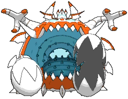 Guzzlord Shiny sprite from Ultra Sun & Ultra Moon
