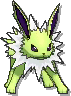 Jolteon Shiny sprite from Ultra Sun & Ultra Moon