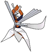 Kartana Shiny sprite from Ultra Sun & Ultra Moon