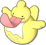 Lickilicky Shiny sprite from Ultra Sun & Ultra Moon