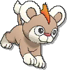 Litleo Shiny sprite from Ultra Sun & Ultra Moon