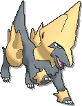 Manectric Shiny sprite from Ultra Sun & Ultra Moon