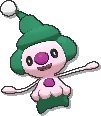 Mime Jr. Shiny sprite from Ultra Sun & Ultra Moon