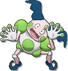 Mr. Mime Shiny sprite from Ultra Sun & Ultra Moon